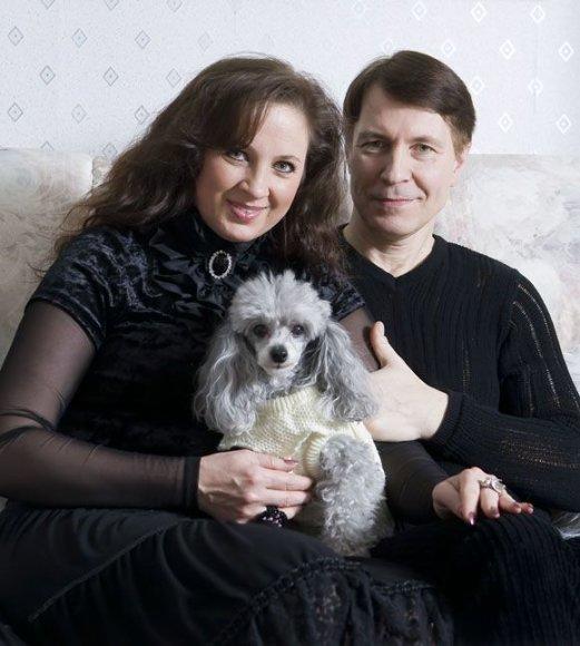 Liveta ir Petras Kazlauskai su Sara