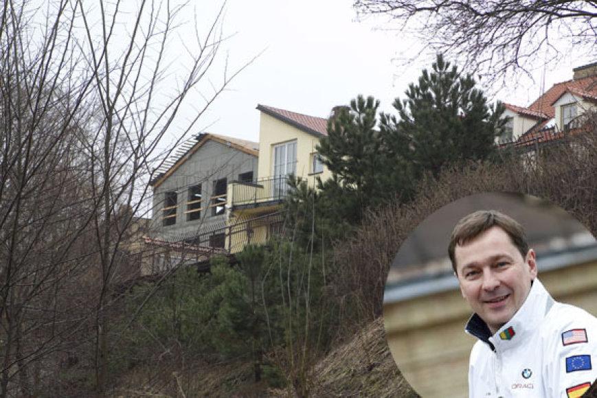 Artūras Zuokas ir jo namas