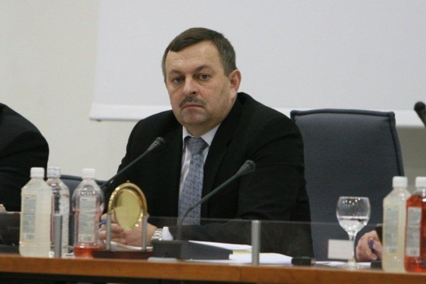 Vilniaus meras teigia, kad padėtį sostinėje pavyko suvaldyti ir miestas nebankrutuos.