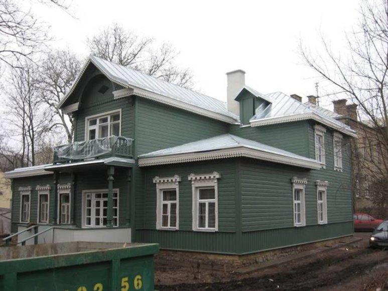 Taip atrodo namas Vytauto gatvėje po renovacijos.