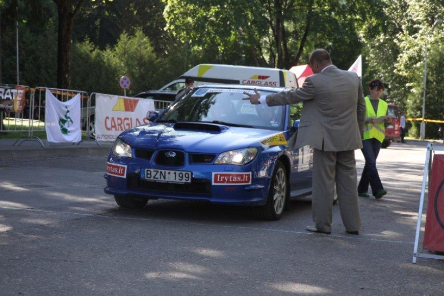 """Tarptautinis žurnalistų ralis """"Lietuva 2010"""""""