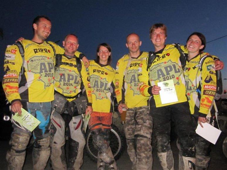 """Žygis motociklais """"Aplink Lietuvą 2010"""": Paskutinė, septintoji diena"""