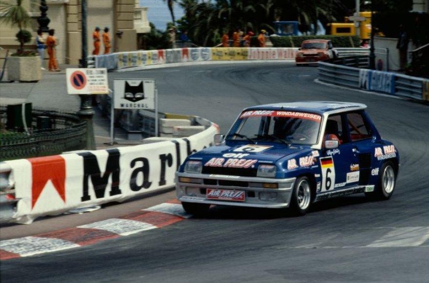 """Renault 5 Turbo"" Monake, 1981 metais"