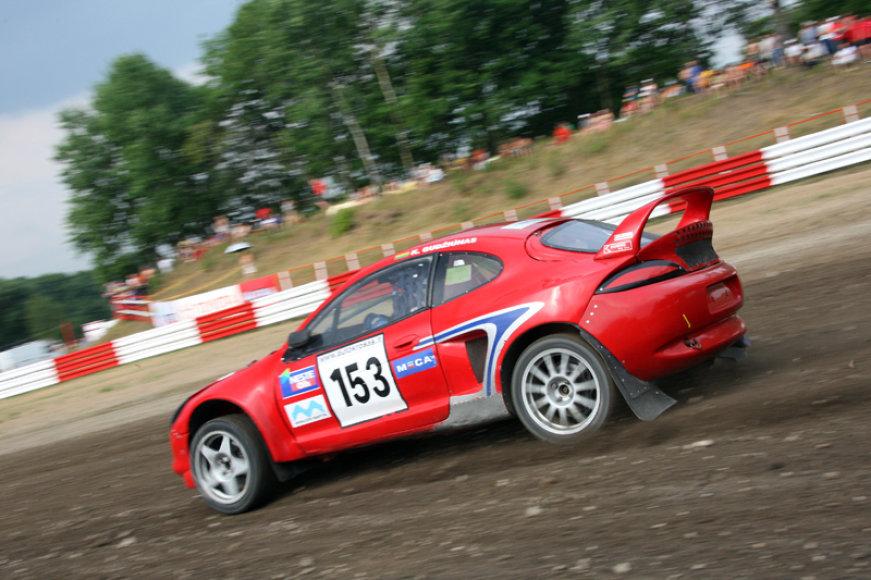 2010 metų ralio kroso lenktynės Vilkyčiuose