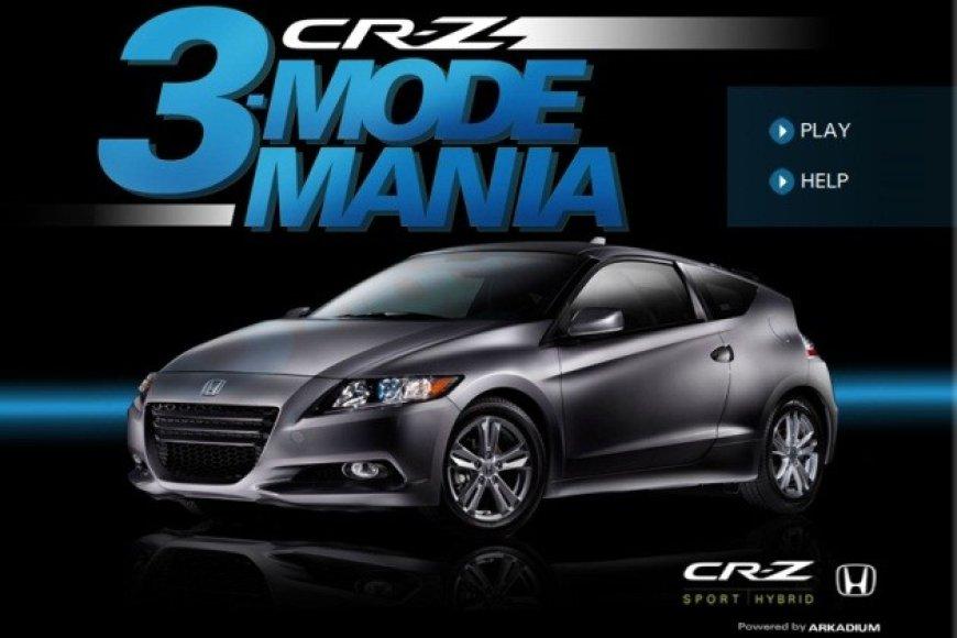 """""""Honda 3 Mode Mania"""" žaidimas"""