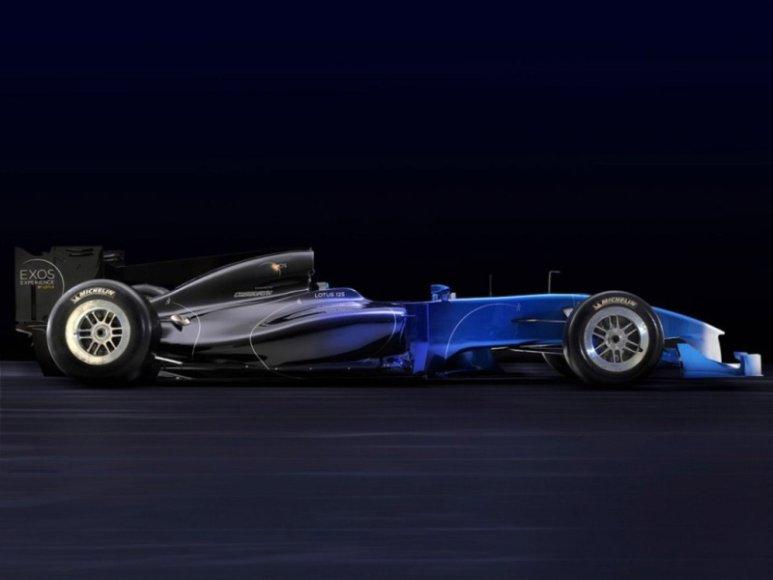 """""""Lotus Exos Type 125"""" - F1 kopija kiekvienam norinčiam"""