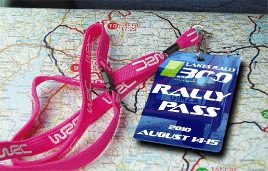 """""""300 Lakes Rally"""" ralio pasas"""
