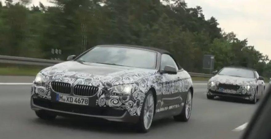 BMW 6-os serijos kabrioleto bandymai