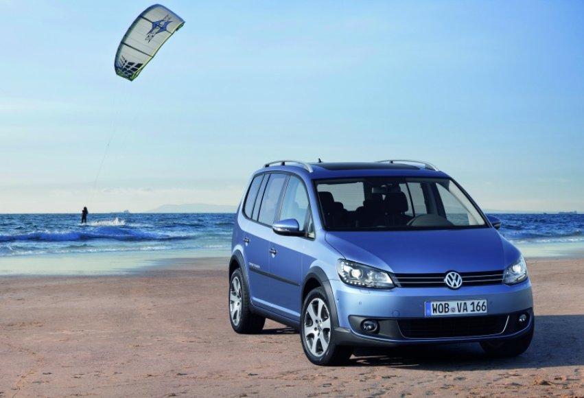 """Naujasis """"Volkswagen Touran"""""""