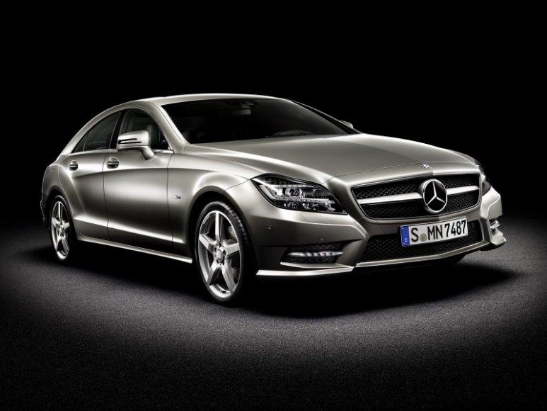 """Naujasis """"Mercedes-Benz CLS"""""""