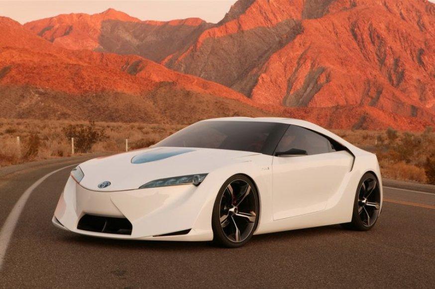 """""""Toyota FT-86"""" konceptinis automobilis"""