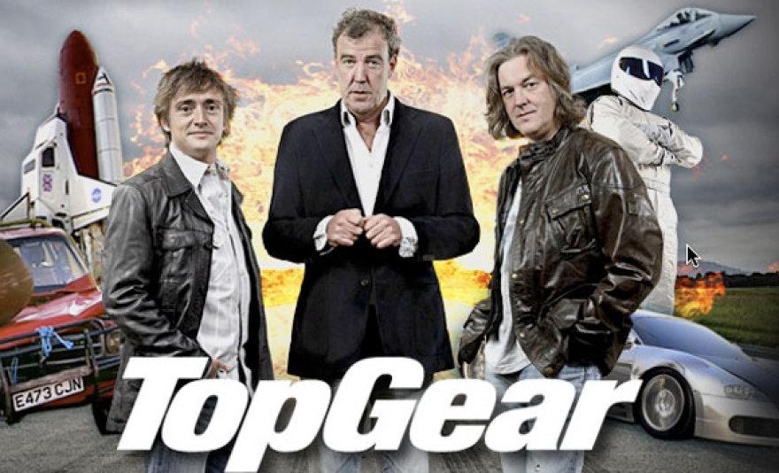 """""""Top Gear"""" laidos vėdėjai"""