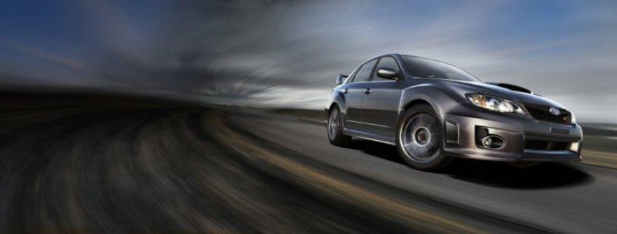 """""""Subaru Impreza STI"""" sedanas jau pakeliui į Lietuvą"""