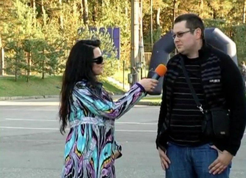 Kadras iš GLV Vilniaus atapo