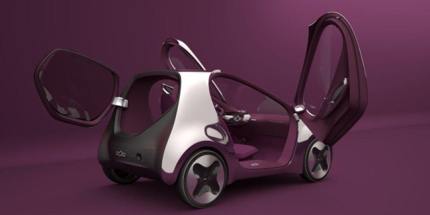 KIA slapta gamina elektromobilį POP
