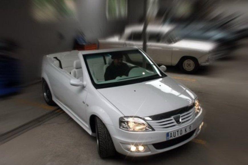 """""""Dacia Logan"""" kabrioletas sukurtas """"Auto K9"""""""