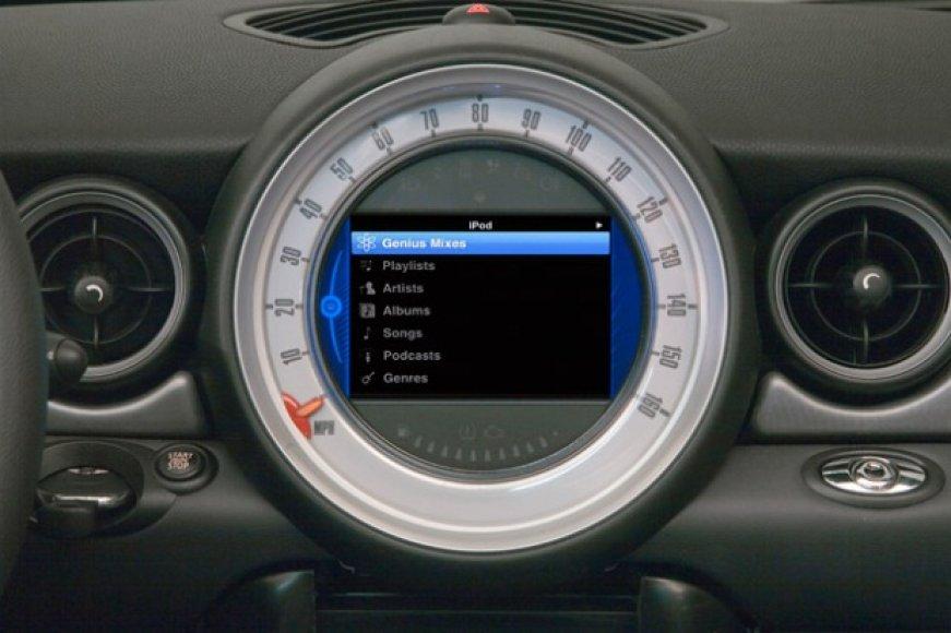 MINI navigacijos sistema