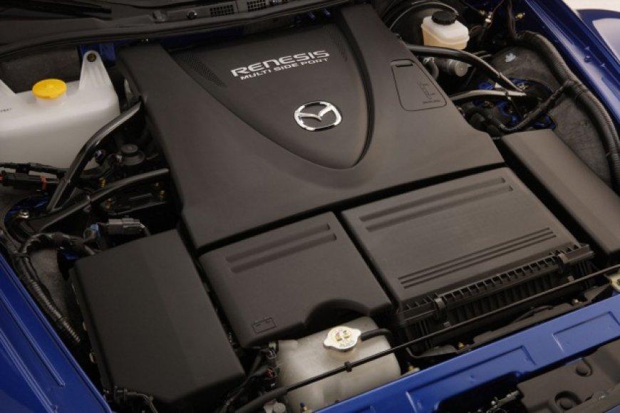 """""""Mazda"""" rotorinis variklis"""