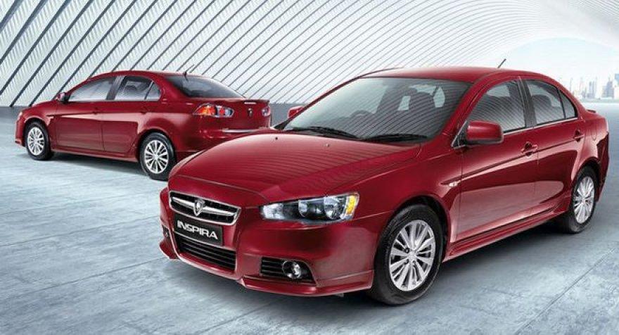 """Naujas """"Proton Inspira"""" = senas """"Mitsubishi Lancer"""""""