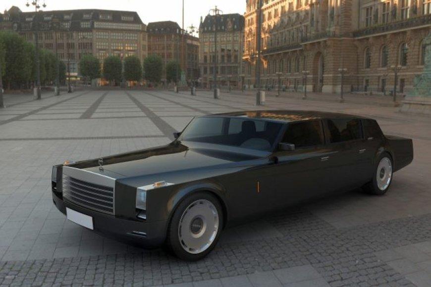 Dmitrijaus Medvedevo užsakymu - moderni ZiL limuzino interpretacija