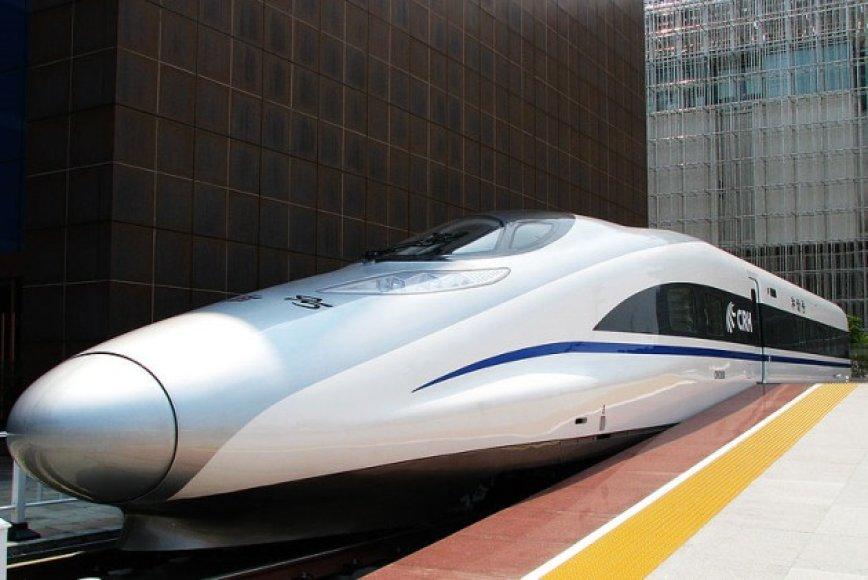 Greitasis traukinys Kinijoje