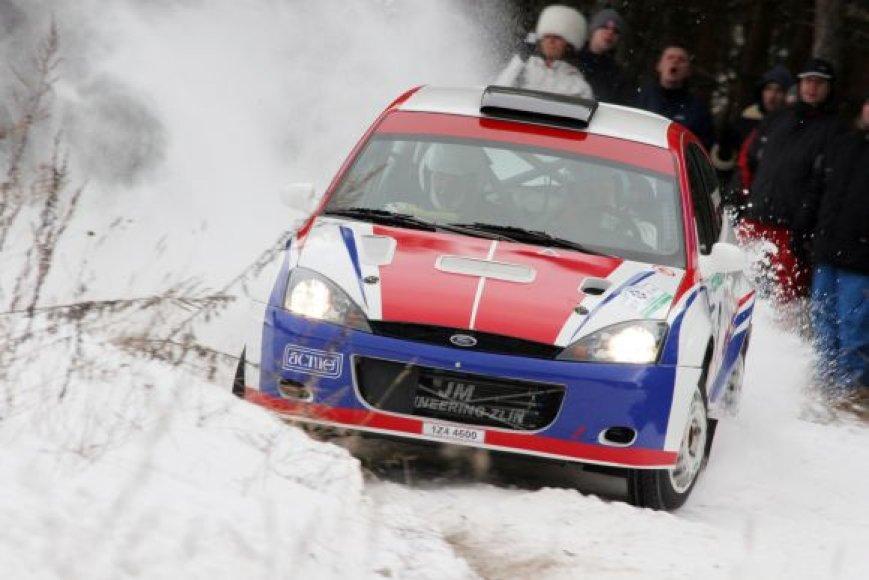 WRC etapas – Lietuvoje!