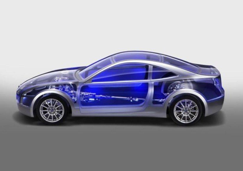 """""""Subaru"""" sportinio automobilio architektūra"""