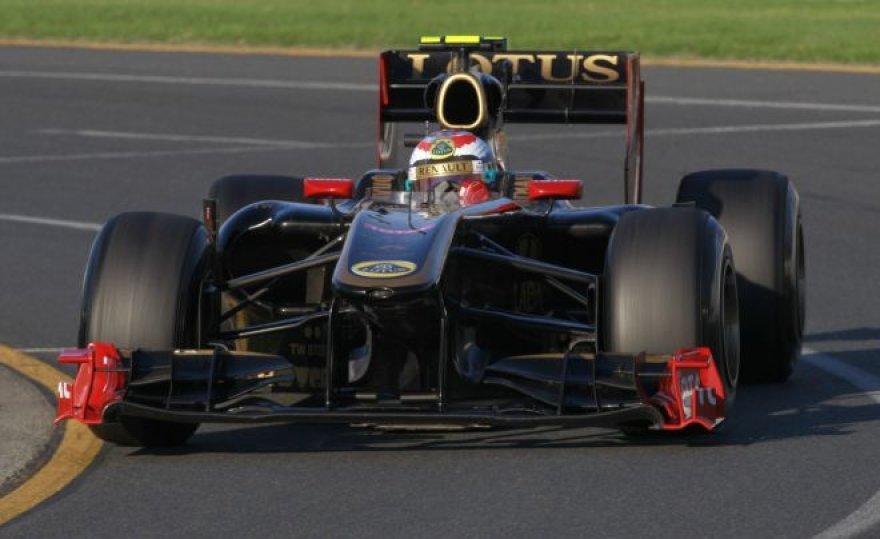 """""""Renault-Lotus"""" bolidas"""