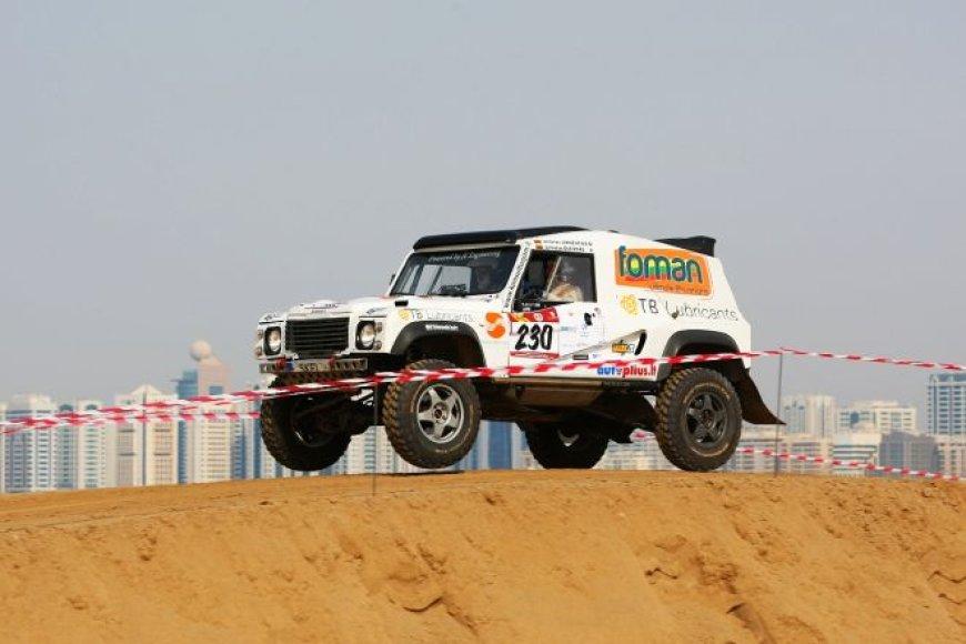 """""""Abu Dhabi desert challenge"""" – specialusis greičio ruožas"""