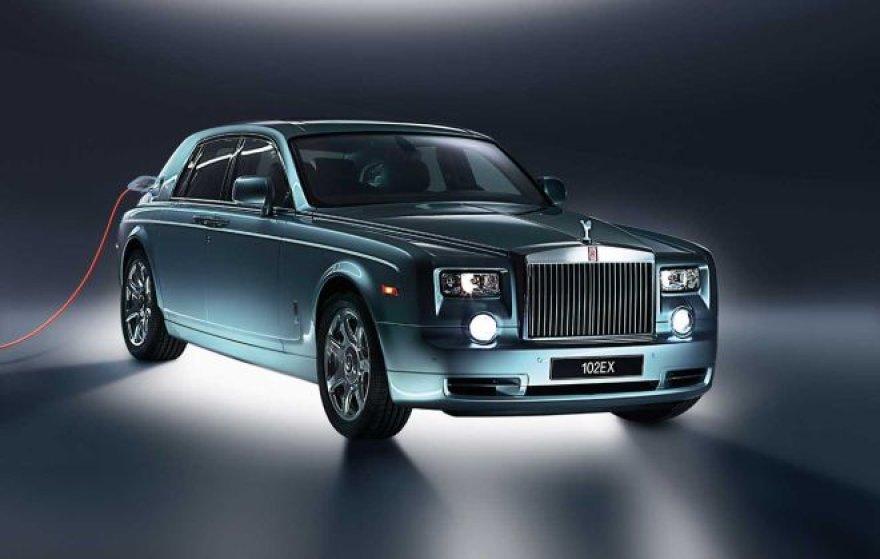 """""""Rolls Royce 102EX"""" – varomas elektra"""