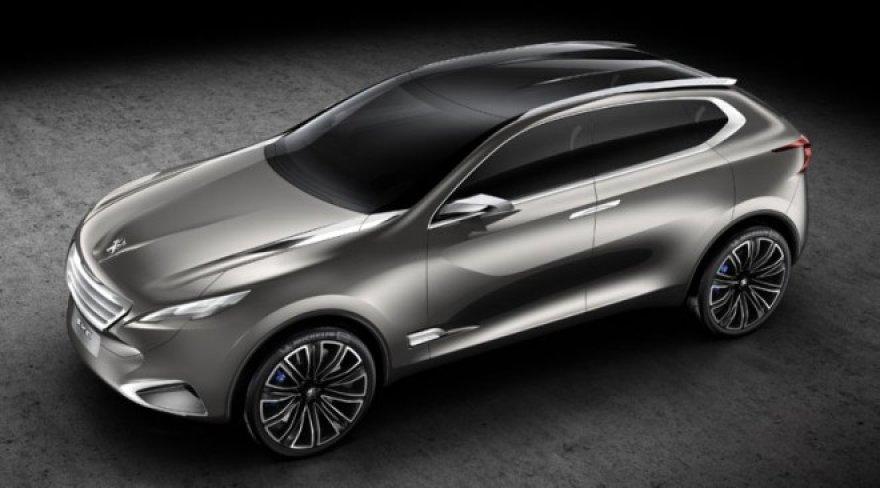 """""""Peugeot SXC"""" koncepcija"""