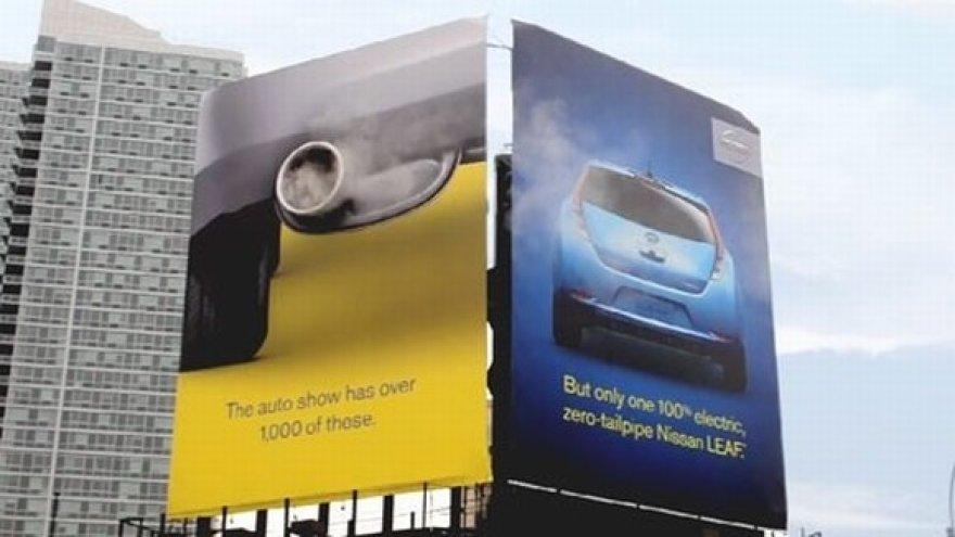 """""""Nissan Leaf"""" reklama"""