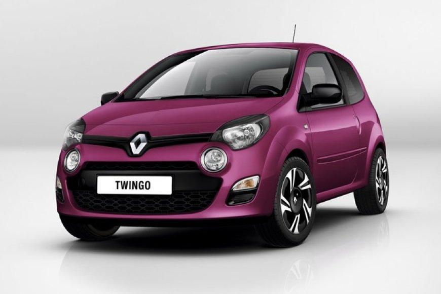 """Pirmoji naujojo """"Renault Twingo"""" nuotrauka"""