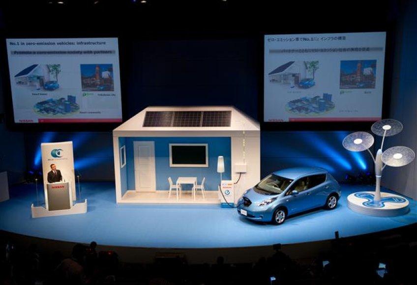 """""""Nissan"""" paskelbė naują aplinkosaugos planą"""