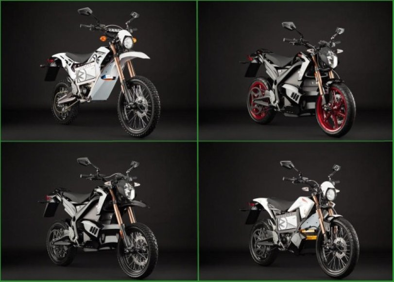 """Atnaujinta """"Zero"""" motociklų gama"""