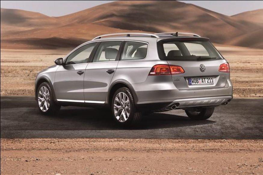 """Debiutas: """"Volkswagen Passat Alltrack"""""""