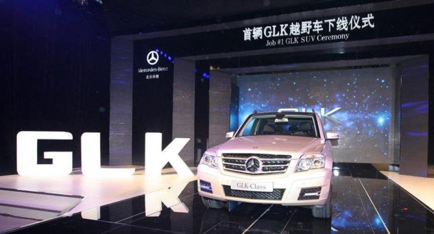 "Pirmasis Kinijoje pagamintas ""Mercedes-Benz GLK"""