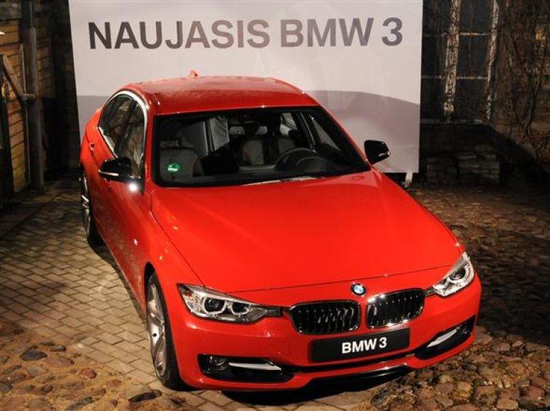 Naujasis 3 serijos BMW Lietuvoje