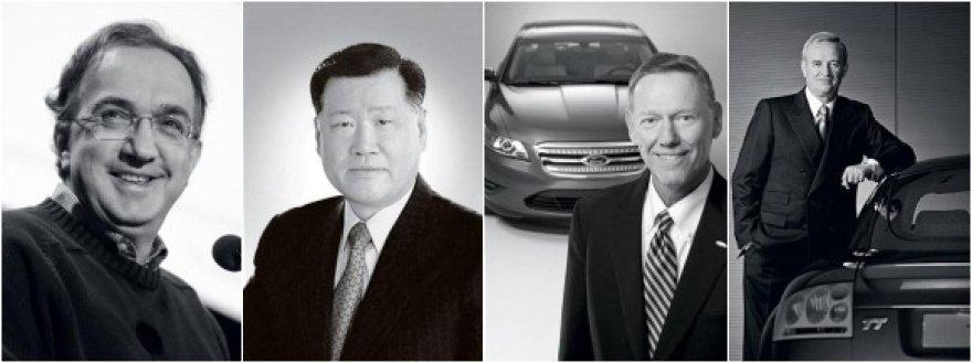 Įtakingiausi automobilių pramonės vyrai