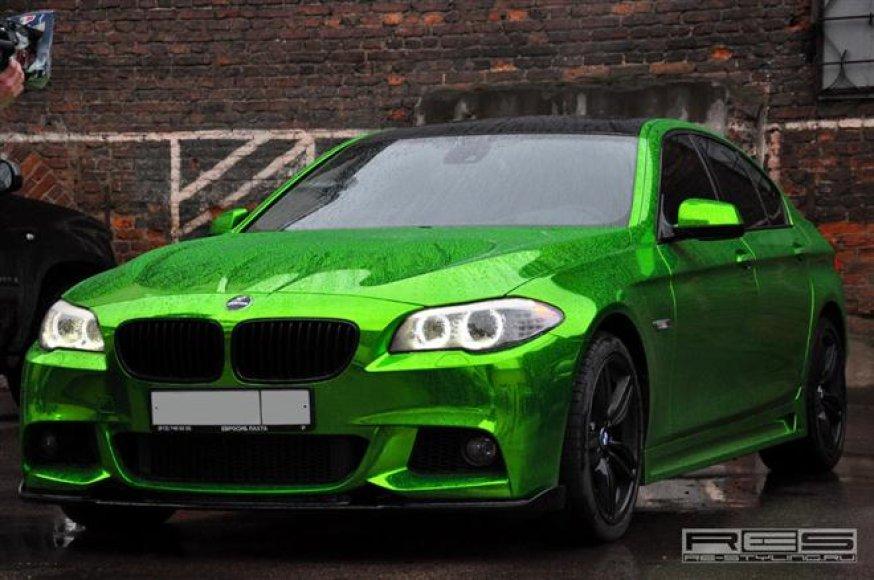 """Re Styling"" patobulintas 5 serijos BMW"