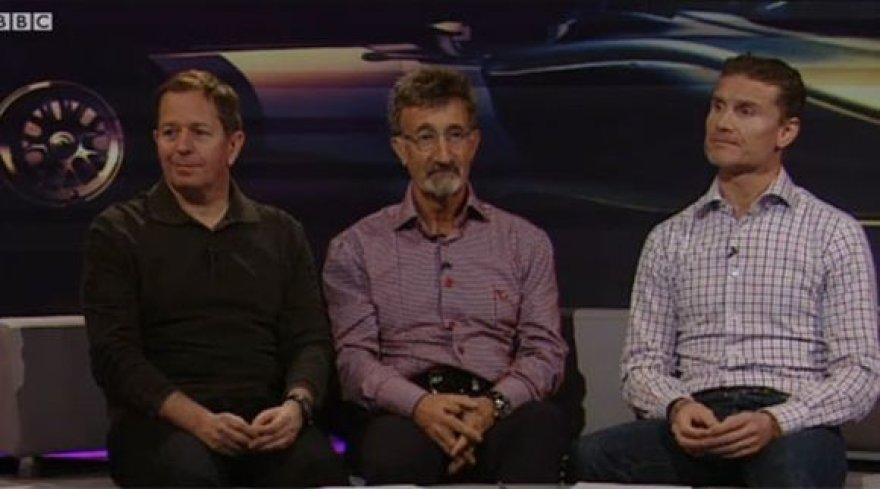 Eddie Jordanas, Martinas Brundlas ir Davidas Coulthardas