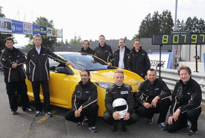 """Renaultsport Megane 265 Trophy"" pasiekė rekordą Niurburgringe"