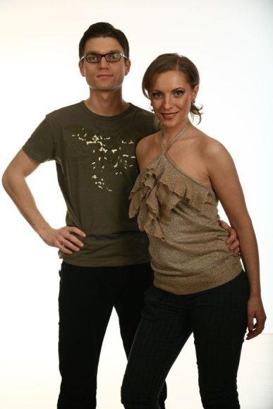 Julija Fedotova ir Justinas Xara