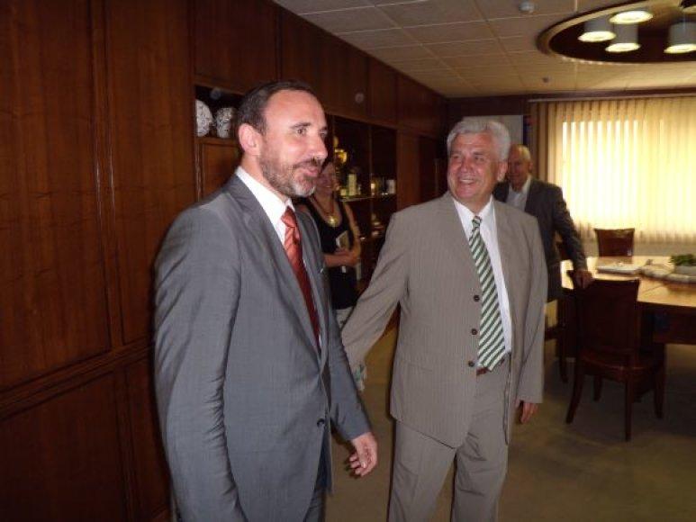 Kultūros ministras Arūnas Gelūnas Klaipėdoje svečiavosi keturias dienas.