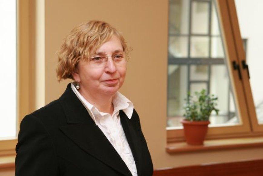 Judita Simonavičiūtė tikėjosi, jog klausimas dėl viešųjų ir privačių interesų supainiojimo bus galutinai išspręstas.