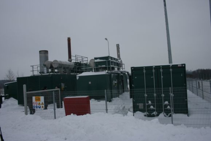 Iš Kalotės sąvartyne susikaupusių dujų bus galima pagaminti 1600 kilovatų elektros energijos per valandą.