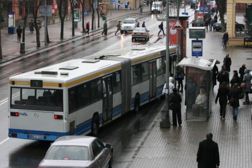 Vasario 16-ąją Klaipėdoje autobusai kursuos kitaip nei įprasta.