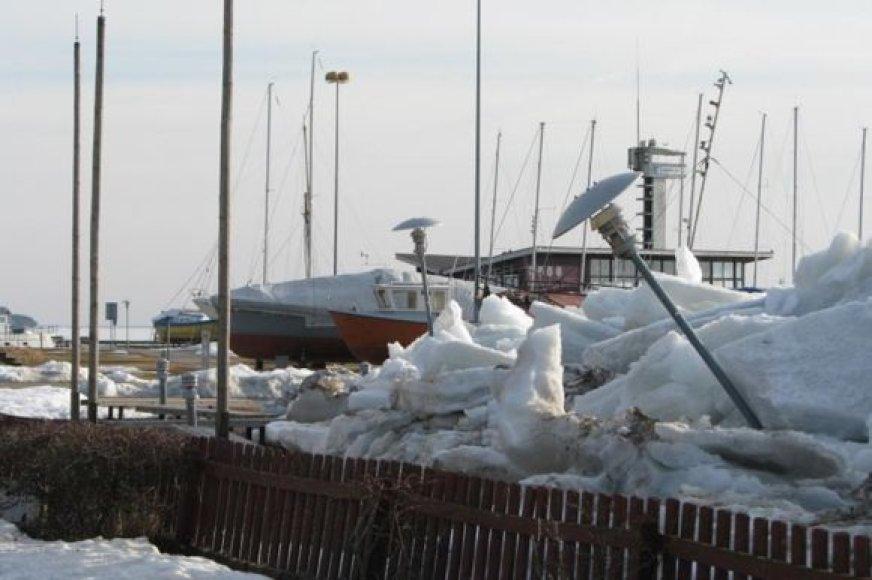 Ledų sangrūdos Nidoje