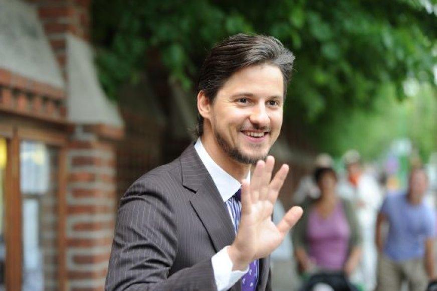 Šventę vedė žinomas aktorius Vytautas Rumšas jaunesnysis.