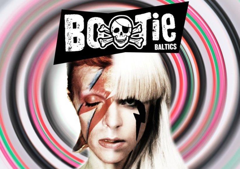 Bootie vakarėlio plakatas